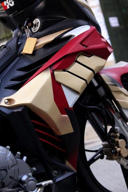 Yamaha Exciter do phong cach Iron Man hinh anh 7