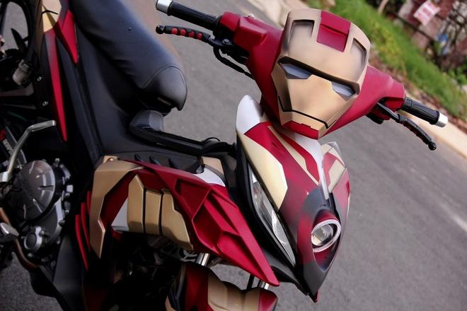 Yamaha Exciter do phong cach Iron Man hinh anh 4