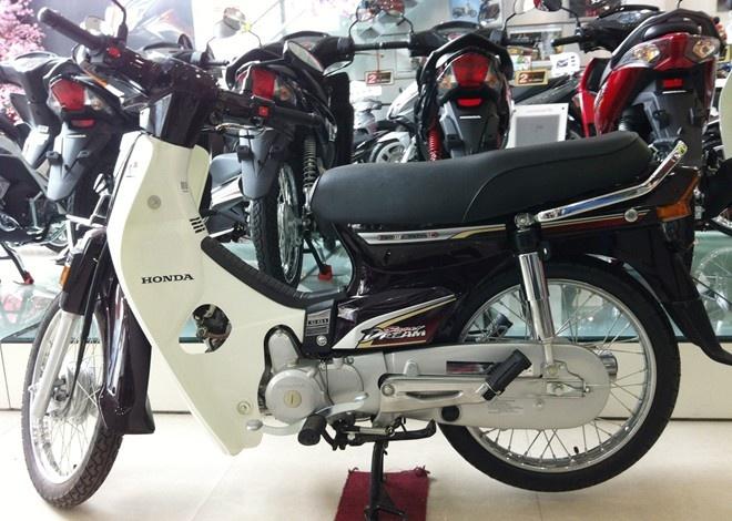 Honda Super Dream - hai the gioi 'giac mo' o Viet Nam hinh anh