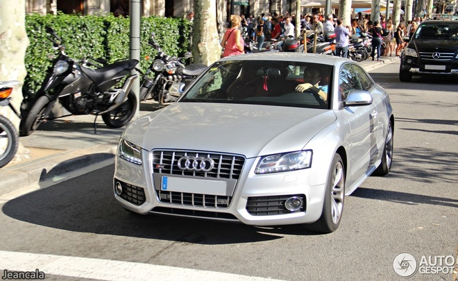 Dan xe sang cua tuyen thu Ha Lan va Tay Ban Nha hinh anh 5 Audi S5 B8