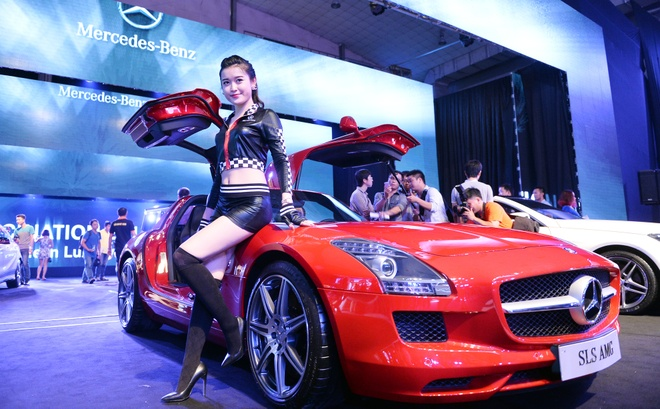Can canh ve dep sieu xe canh chim Mercedes 11,8 ty dong hinh anh