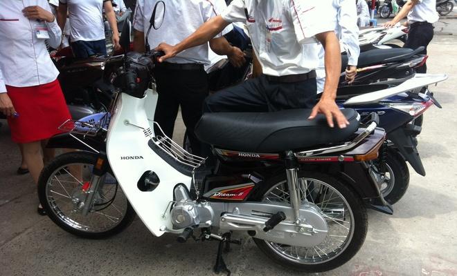 Honda Super Dream 100 doi cu gia gan 30 trieu o Ha Noi hinh anh