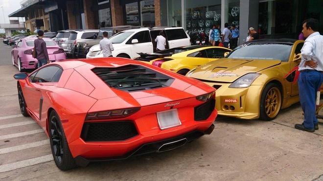 Lamborghini Aventador cua Minh nhua tai xuat o Sai Gon hinh anh 1