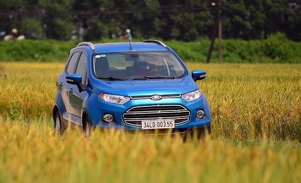 Chay thu Ford Ecosport: Mau SUV co nho the thao, kinh te hinh anh