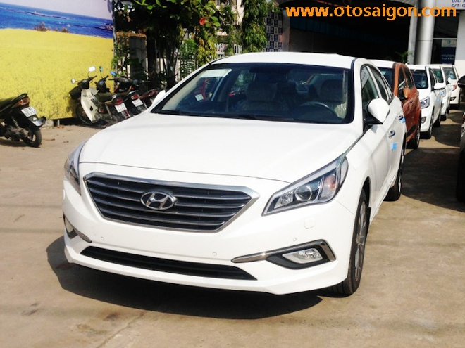 Hyundai Sonata the he moi xuat hien o Viet Nam hinh anh 1