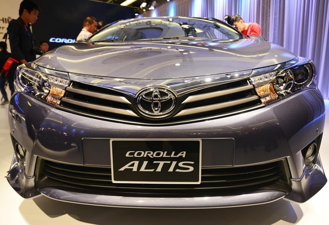 Anh chi tiet Toyota Corolla Altis vua ra mat o Viet Nam hinh anh 5