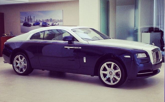 Rolls-Royce Wraith chinh hang dau tien ve Viet Nam hinh anh