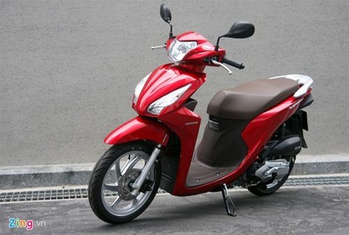 So Sánh Honda Vision Phiên Bản Mới Và Cũ Xe Máy Zingvn