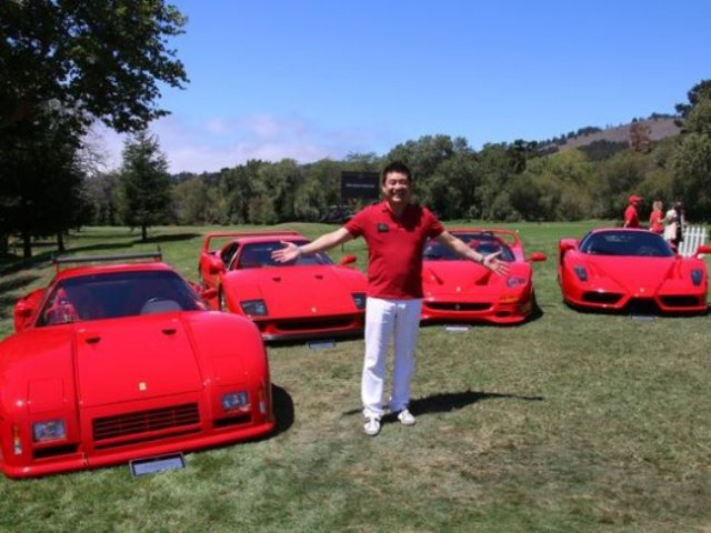 Doanh nhan nguoi My so huu 5 sieu xe Ferrari hang hiem hinh anh