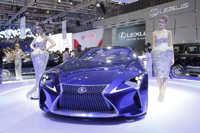 4 mau xe dac biet nhat tai Vietnam Motor Show 2014 hinh anh