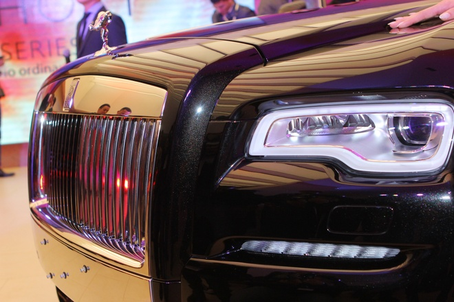 Anh chi tiet Rolls-Royce Ghost gia 19 ty vua ra mat o VN hinh anh