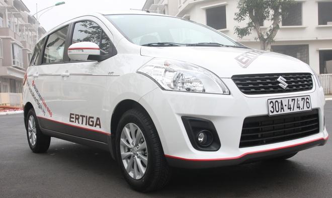 Suzuki Ertiga - tan binh xe 7 cho gia re cho gia dinh hinh anh