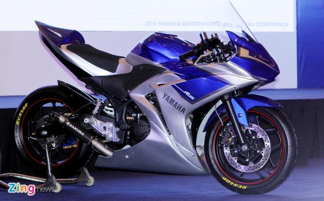 Yamaha R25 phien ban xe dua MotoGP hinh anh 1