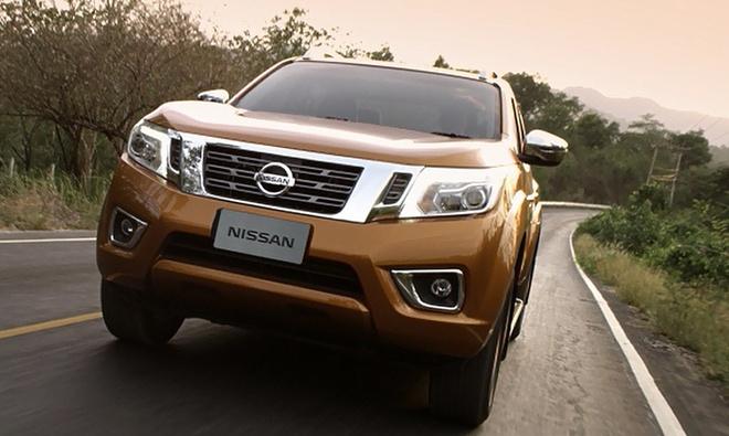 Nissan NP300 Navara 2015 chuan bi ra mat o Viet Nam hinh anh 1
