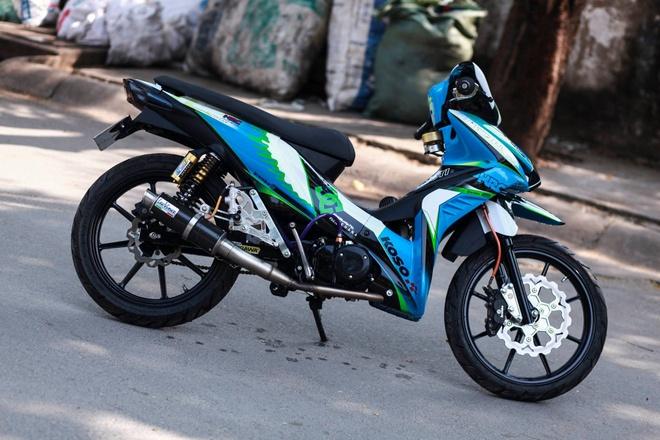Honda Wave RSX son tem dau cua biker Sai Gon hinh anh 6