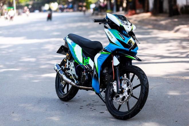 Honda Wave RSX son tem dau cua biker Sai Gon hinh anh 1