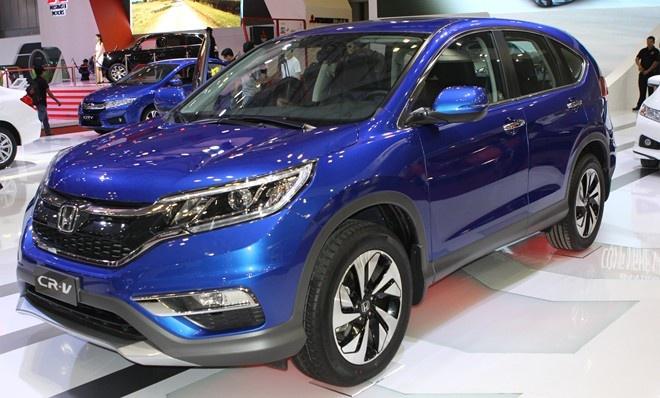 Honda CR-V tro lai top 10 oto ban chay nhat Viet Nam hinh anh