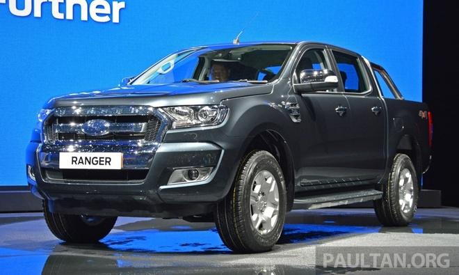 Ford Ranger 2015 thiet ke moi ra mat tai Thai Lan hinh anh
