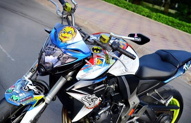 Honda CB1000R son dan ao tre trung cua biker Phan Thiet hinh anh