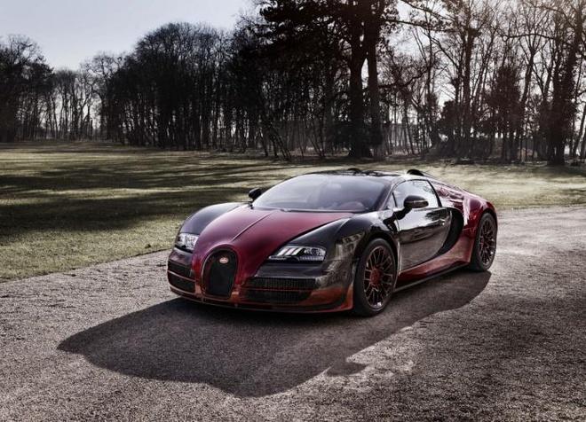 Qua trinh lap rap sieu xe Bugatti Veyron cuoi cung hinh anh