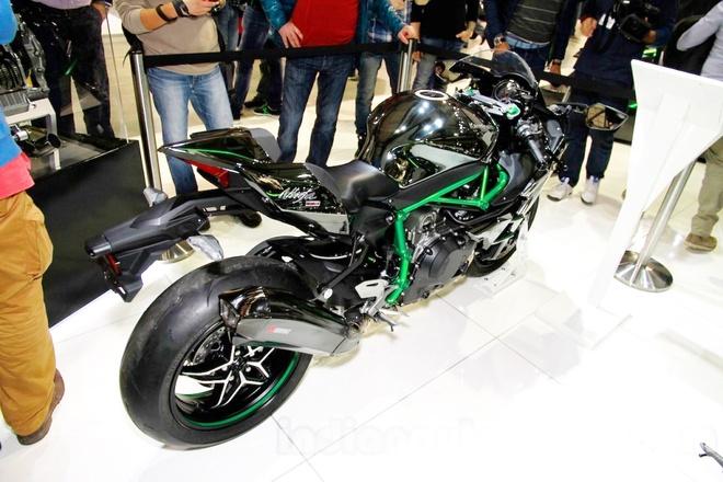 Kawasaki Ninja H2 gia gan 47.000 USD o An Do hinh anh