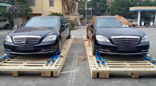 Bo doi limousine Mercedes chong dan dau tien ve Viet Nam hinh anh