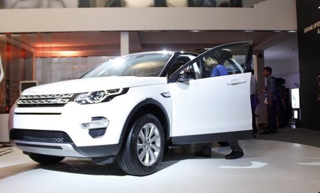 Anh thuc te Land Rover Discovery Sport 2015 vua ra mat o VN hinh anh