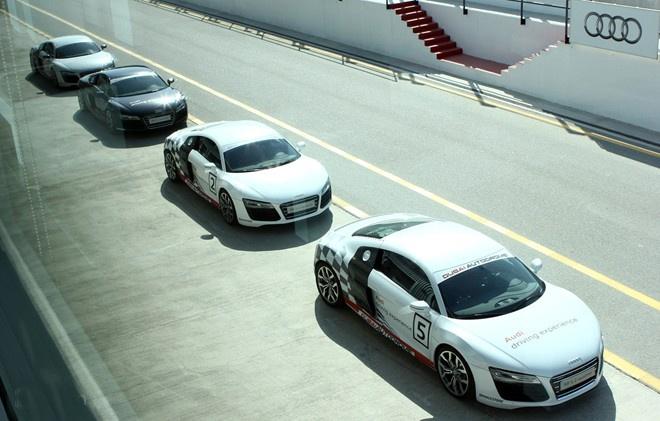 Audi lam duong chay thu sieu xe R8 tai Phu Quoc hinh anh