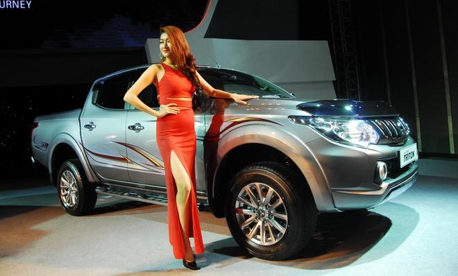 Mitsubishi Triton the he thu 5 trinh lang o Viet Nam hinh anh