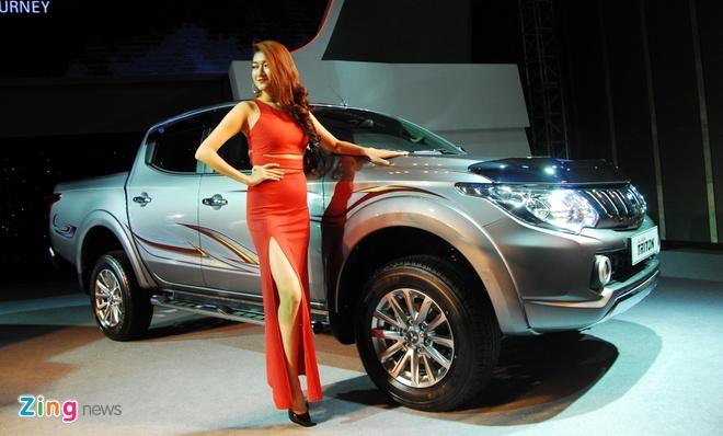 Mitsubishi Triton the he thu 5 trinh lang o Viet Nam hinh anh 1