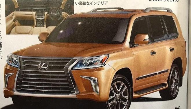 Ro ri hinh anh Lexus LX 570 2016 hinh anh