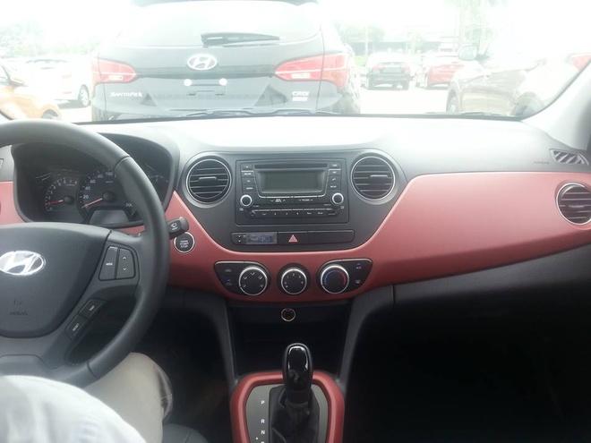 Hyundai Grand i10 sedan noi that da co gia tu 439 trieu dong hinh anh 2