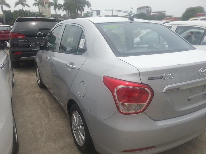 Hyundai Grand i10 sedan noi that da co gia tu 439 trieu dong hinh anh 1