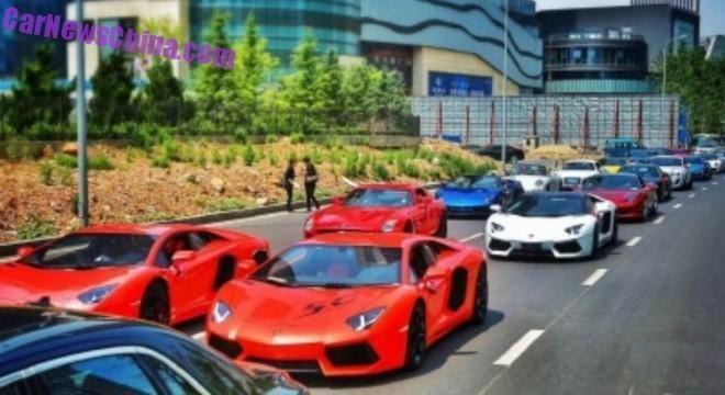 Dam cuoi voi dan sieu xe o Trung Quoc hinh anh 3