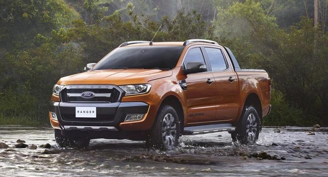 Ford Ranger Wildtrak 2015 ra mat o Thai Lan hinh anh
