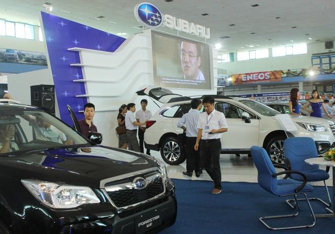 Vietnam AutoExpo 2015 tiep tuc vang cac thuong hieu oto hinh anh