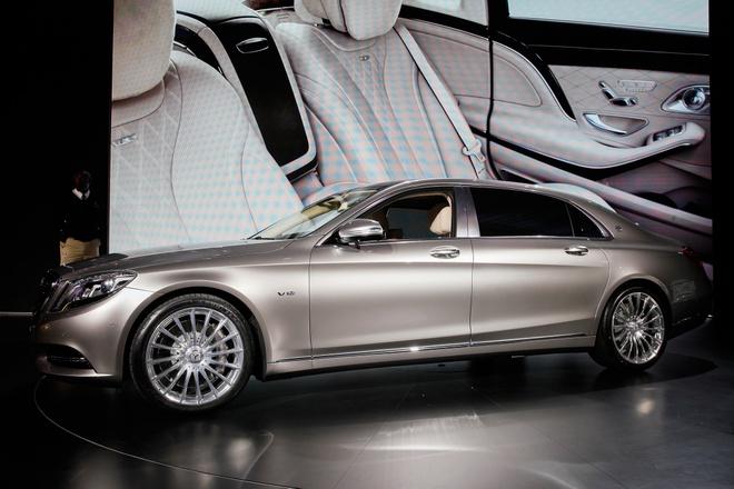 Mercedes-Maybach S600 hut gioi nha giau Trung Quoc hinh anh