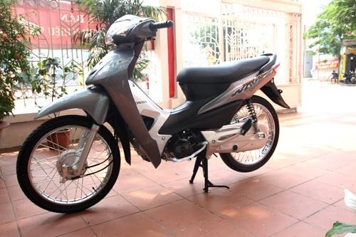 Honda Wave Alpha ban chay nhat nua dau 2015 o Viet Nam hinh anh