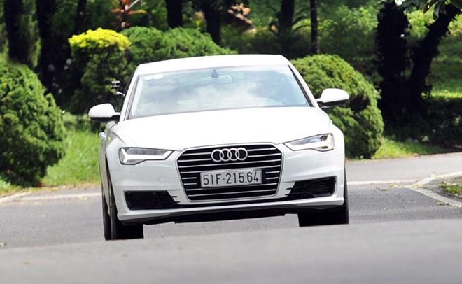 Chay thu Audi A6 2015 - sedan sang trong cho nguoi tre hinh anh