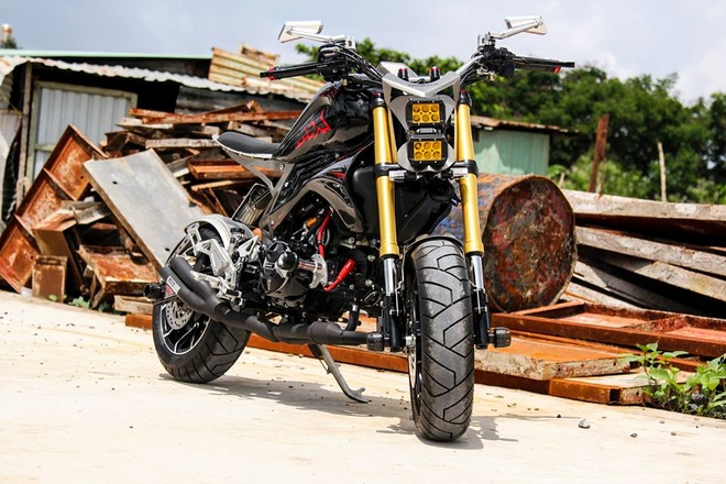 Biker Sai Gon cat got Honda MSX 125 hinh anh