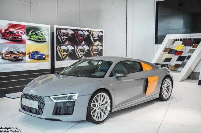 Audi R8 V10 Plus mau doc o Duc hinh anh