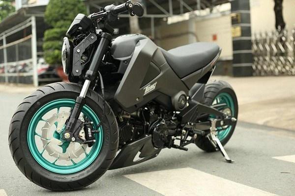 3 chiec Honda MSX 125 do doc dao cua biker Sai Gon hinh anh