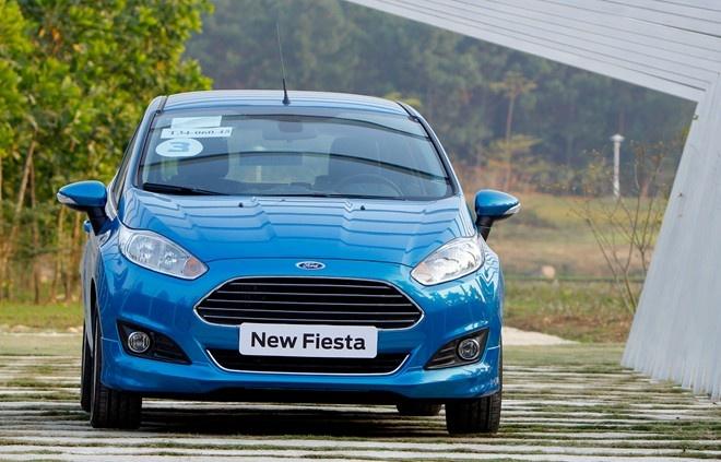 Gan 1.200 xe Ford Fiesta bi loi he thong dien o VN hinh anh 1