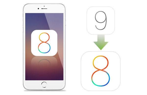 Cach go iOS 9 ve iOS 8 tren iPhone 4S hinh anh