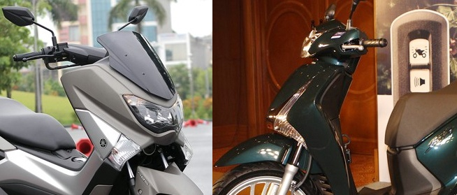 Nen mua Honda SH 150i hay Yamaha NM-X? hinh anh