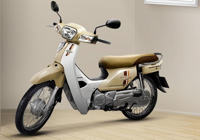Honda Super Dream 110 them 2 mau moi o Viet Nam hinh anh