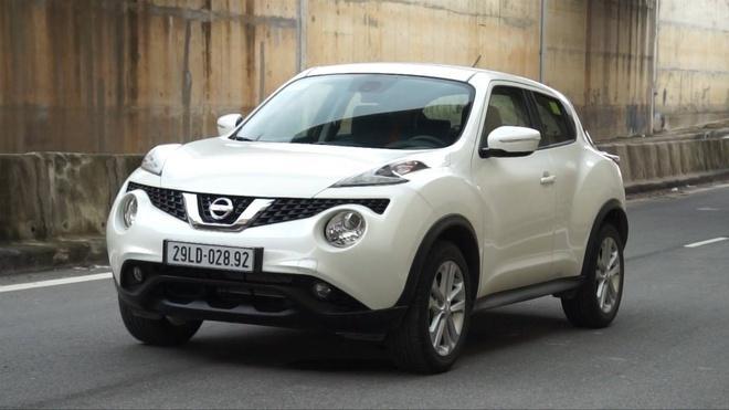 Trai nghiem Nissan Juke 2015 o Ha Noi hinh anh