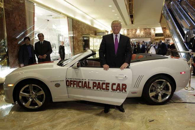 5 chiec xe yeu thich cua ty phu Donald Trump hinh anh 1