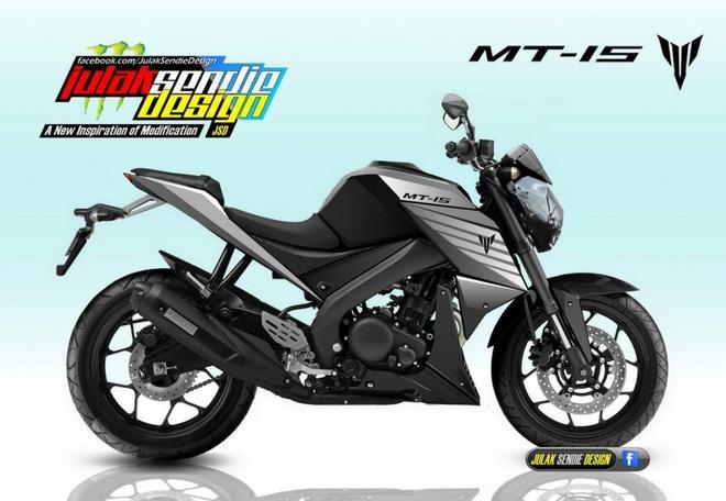 Yamaha MT-15 co the giong KTM Duke hinh anh