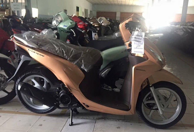Honda Vision Thêm 3 Màu Mới ở Việt Nam Xe Máy Zingvn